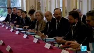2020-02-27 12:02 Coronavirus en France : Edouard Philippe réunit les chefs de partis à Matignon