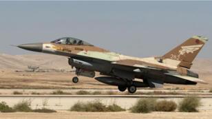 Un F-16 israélien s'est écrasé dans le nord d'Israël, samedi 10 février.