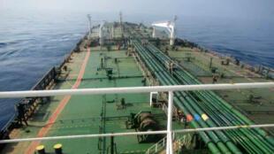 L'intérieur du tanker Sabiti de la National Iranian Tanker Company(NITC), photographié par son équipage après l'attaque.