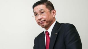 Hiroto Saikawa lors d'une conférence de presse à Yokohama, au Japon, en décembre 2018.
