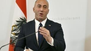 Kosovo Prime Minister Ramush Haradinaj accused Serbia of thwarting its bid to join Interpol