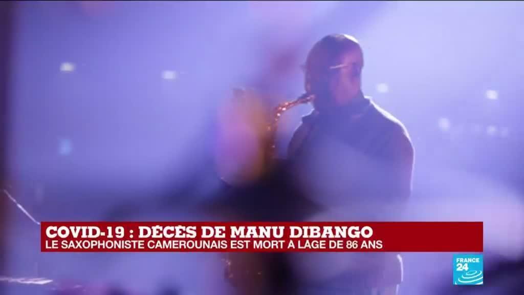 2020-03-24 10:31 Coronavirus - Décès de Manu Dibango : Le saxophoniste camerounais est mort à 86 ans