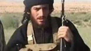 Photo non datée de l'ancien porte-parole et chef des opérations extérieures de l'EI, Abou Mohammed al-Adnani.