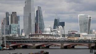 Major financial districts such as London's Canary Wharf and La Defense in Paris remain extremely quiet, even as governments lift coronavirus restrictions