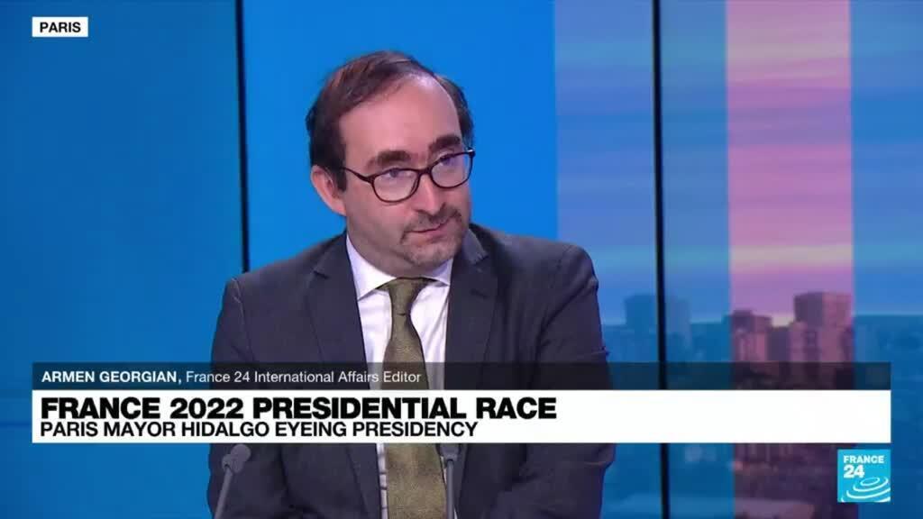 2021-09-13 09:37 Paris mayor Hidalgo enters race for France 2022 presidential race