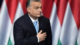 Hungarian Prime Minister and Chairman of FIDESZ party Viktor Orban, pictured in February 2019