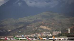 صورة أرشيفية لمطار العاصمة الفنزويلية كراكاس
