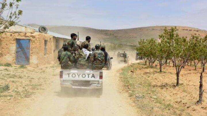 Des soldats de l'armée syrienne.