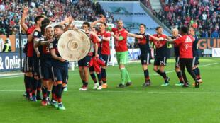 Le Bayern Munich, sacré au soir de la 29e journée de la Bundesliga.