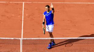 Le 2e tour de Roland-Garros n'a été qu'une formalité pour les favoris, dont Rafael Nadal.