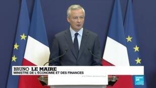 2020-06-09 10:11 Le gouvernement français dévoile un plan de soutien de 15 milliards d'euros au secteur aéronautique