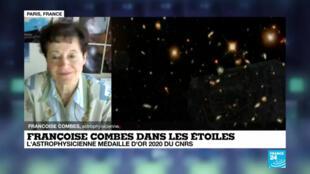 L'astrophysicienne François Combes