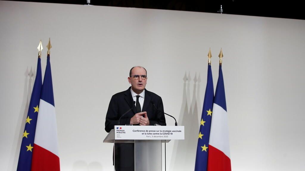 Covid-19 vaccine will be free of charge, 1 million inoculations set for January, French PM says