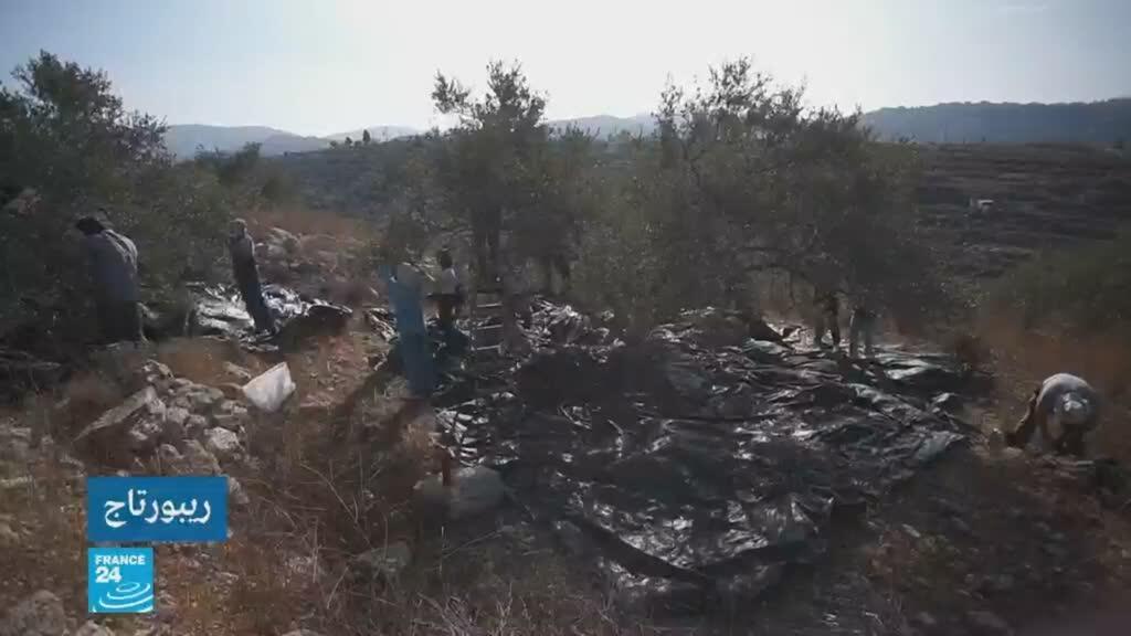 2019-11-29 08:22 حصاد الزيتون في فلسطين لا يسلم من المستوطنين / في عمق الحدث