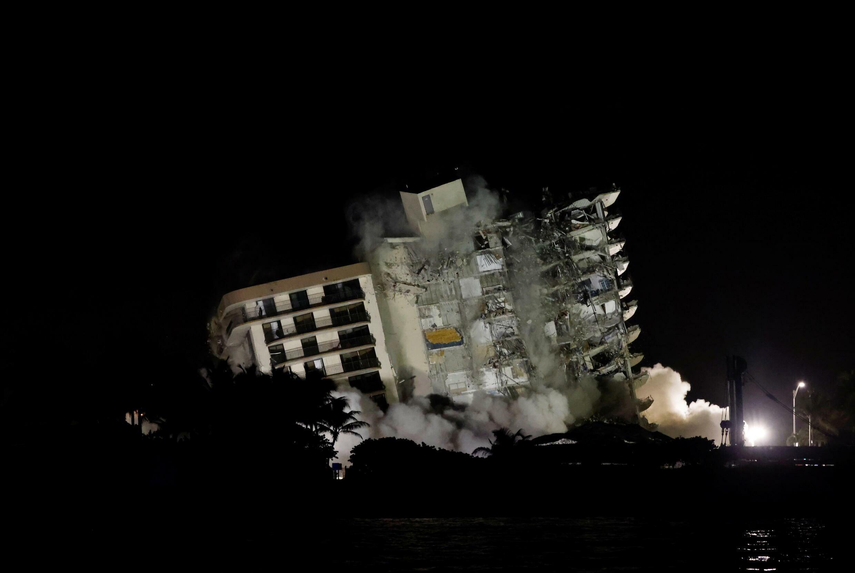 surfside demolition