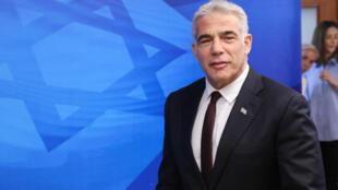 Le chef de la diplomatie israélienne Yair Lapid