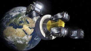 L'un des quatre satellites Galileo mis en orbite le 17 novembre.