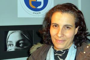 Fatiha, mère de famille et directrice d'une école d'audiovisuel.