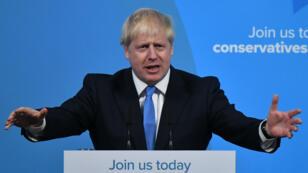 Boris Johnson vient d'être élu à la tête du parti conservateur britannique, mardi 23 juillet 2019.