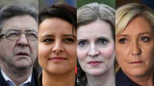 Ça passe pour Mélenchon et Le Pen, ça casse pour Vallaud-Belkacem et Kosciusko-Morizet lors du second tour des élections législatives.