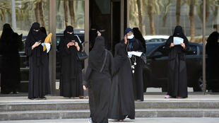 Mujeres sauditas en Riad, el 24 de junio de 2019.