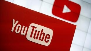 Logo de la plataforma de videos, YouTube.