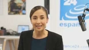 Andrea Amaya Porras, journaliste pour France 24 en espagnol.