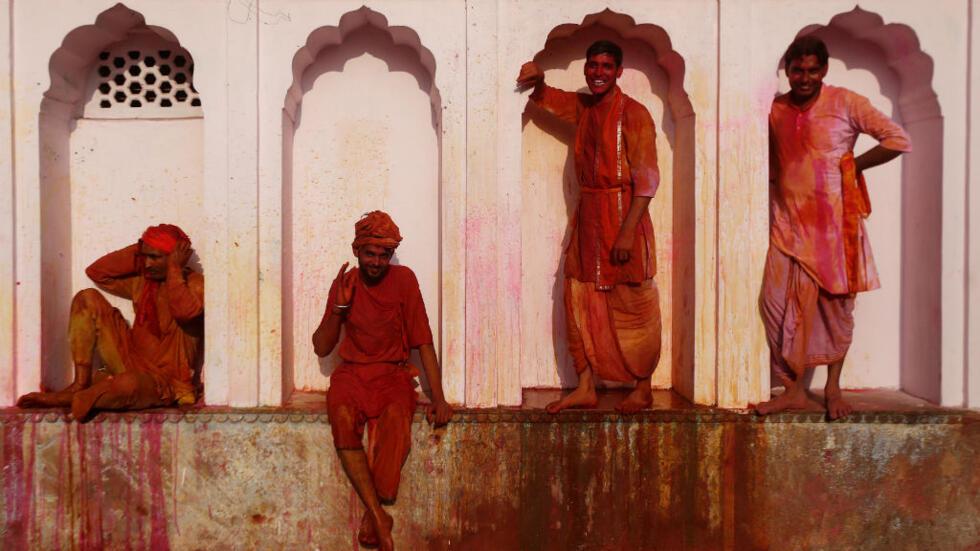Holi, es un festival hindú que se celebra en la India y en comunidades de esta cultura en el mundo.