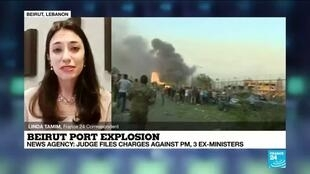 2020-12-10 16:05 Beirut port explosion: Lebanon judge indicts PM, 3 ex-ministers over blast