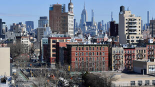 مدينة نيويورك بؤرة انتشار فيروس كورونا في الولايات المتحدة في 27 آذار/مارس 2020