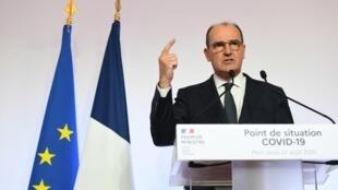 El primer ministro francés, Jean Castex, el 27 de agosto en París.