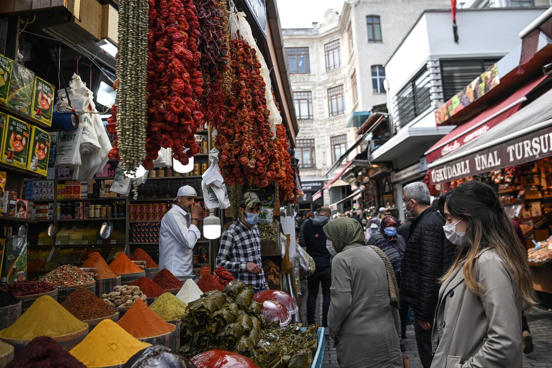 Turkey lockdown market