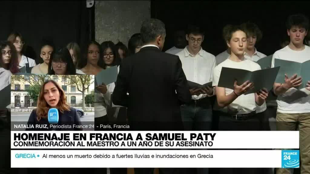 2021-10-15 17:03 Informe desde París: escuelas francesas rinde homenaje al profesor Samuel Paty