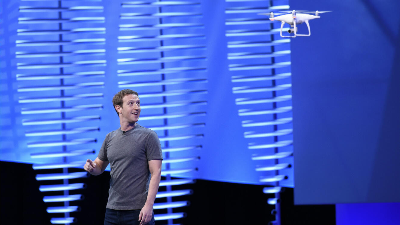 Mark Zuckerberg à la conférence F8 de Facebook, le 12 avril 2016 à San Francisco.