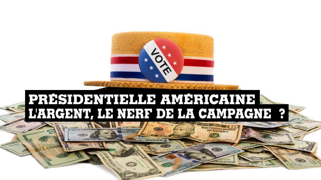 Primaires aux Etats-Unis : l'argent, le nerf de la campagne?