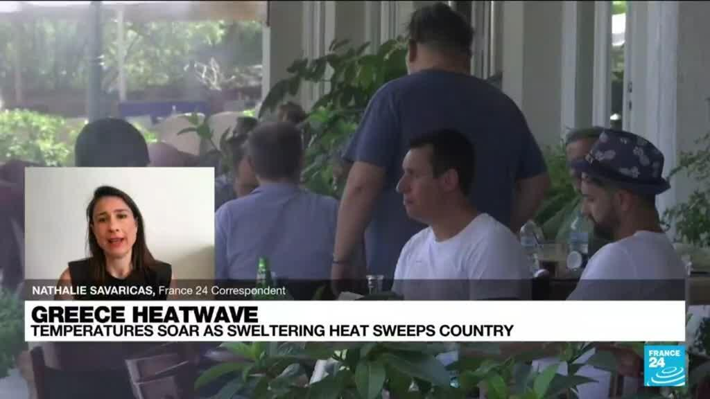2021-08-03 11:13 Greece heatwave: In heat emergency, southern Europe scrambles for resources