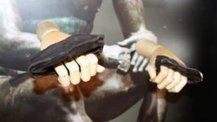 Des gants de boxe vieux de 2 000 ans découverts sur le site romain de Vindolanda, au Royaume-Uni.