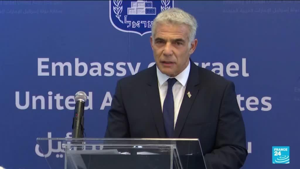 2021-06-29 18:31 Lapid, on UAE trip, opens first Israeli embassy in Gulf