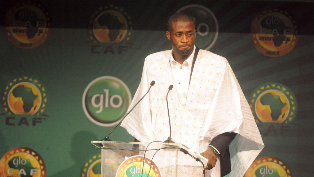 L'Ivoirien Yaya Touré, déjà lauréat du trophée en 2013