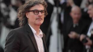 المخرج زياد دويري في مهرجان البندقية السينمائي في 9 أيلول/سبتمبر 2017.