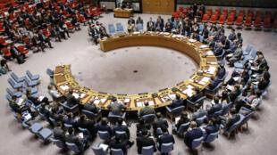 Image d'archive d'une réunion du Conseil de sécurité de l'ONU.
