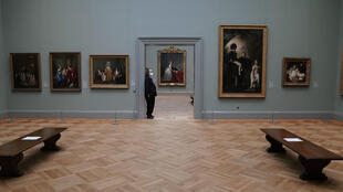 """The exhibition """"A New Look at Old Masters"""" at The Met in New York"""
