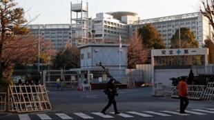 Cárcel de Tokio donde se encuentra Carlos Ghosn, el 8 de enero de 2019.
