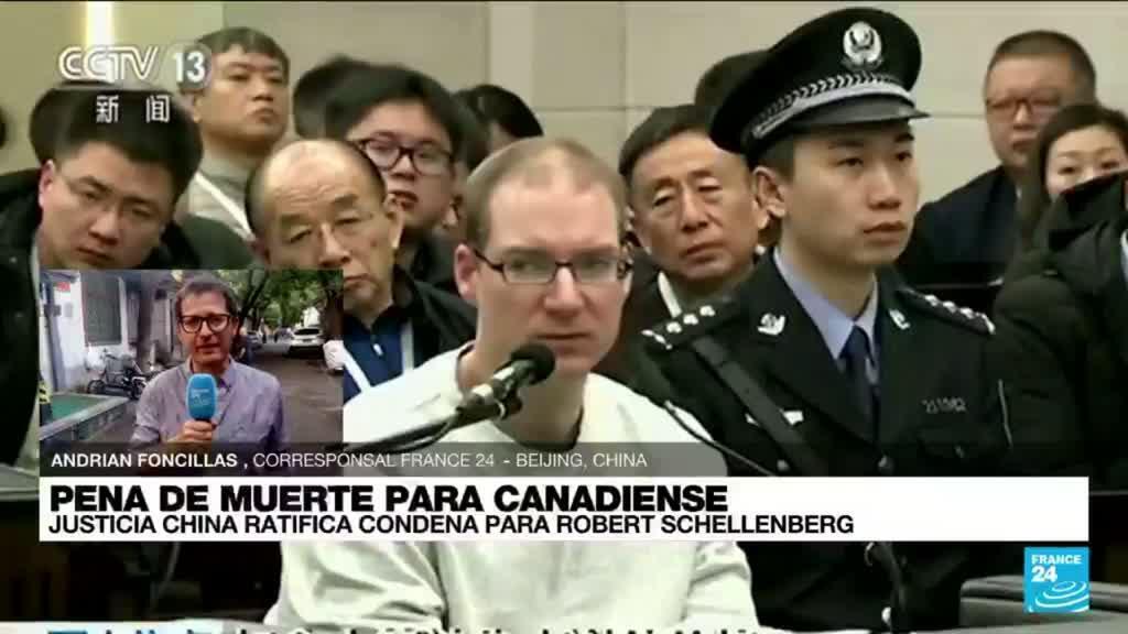2021-08-10 14:38 Informe desde Beijing: China ratificó condena a muerte contra un ciudadano canadiense