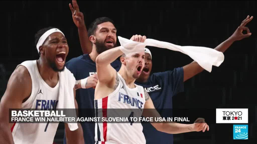 2021-08-05 16:18 Tokyo Olympic Games: French basketball team reaches final in brillant match against Slovenia