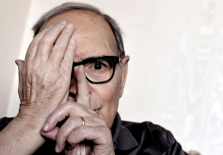 Imagen de archivo. El compositor italiano Ennio Morricone el 3 de julio de 2017 en Roma.