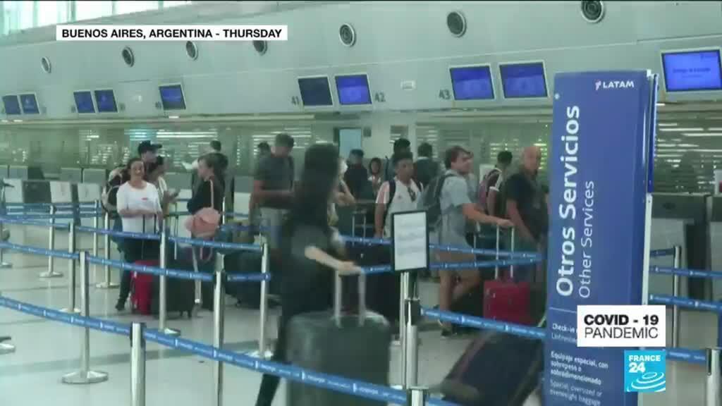 2020-03-13 11:08 Coronavirus Pandemic: South America ramps up travel bans, school closures