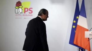 Le premier secrétaire du Parti socialiste, Jean-Christophe Cambadélis, dimanche 22 janvier 2017, à Paris.