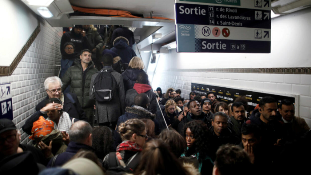Transport strikes have brought a whole new challenge to foreigners navigating Paris