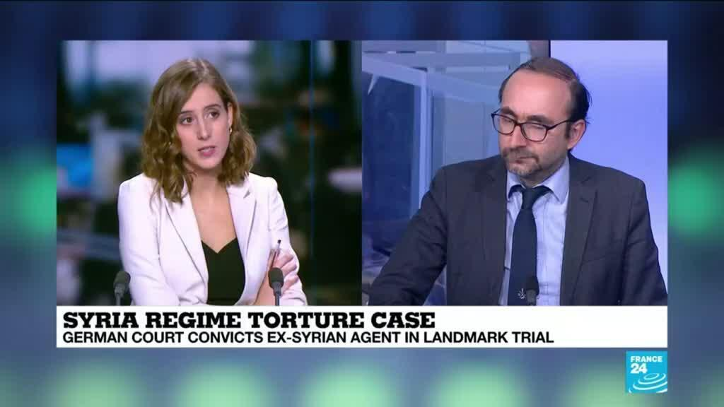 2021-02-24 15:04 German court issues guilty verdict in first Syria torture trial